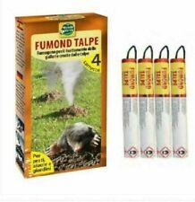CARTOUCHES DE FUMÉE ZAPI MOLES Poison taupe taupicide maulwurf gift mole poison