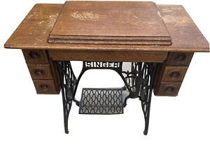 1911 Vintage Singer Sphinx Treadle Sewing Machine
