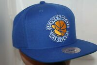 Golden State Warriors Mitchell & Ness NBA Wool Solid Snapback,Hat,Cap   NEW