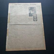 TITANIC NEW YORK TRIBUNE NEWSPAPER MARCH 12th 1912