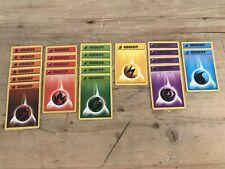 Pokemon Card Original Base Set 6x97,4x98,5x99,1x100,4x101 And 2x102  PK21