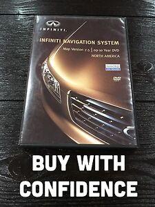 2006-2008 Infiniti FX45 FX35 G35 M45 M35 QX56 Nissan 350Z Navigation DVD Ver 7.5