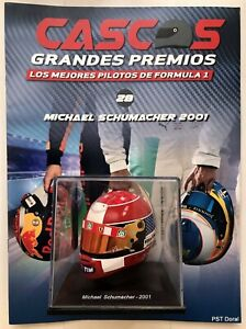 Michael Schumacher (2001) helmet collection 1/5 new Discontinued