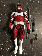 "Star Wars Black Series CLONE COMMANDER FOX loose 6"" action figure CLONE WARS"