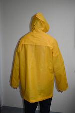 Pannen-poncho Melco Regenschutz Regenponcho Transparent Gelb Universal