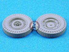 Legend 1/35 SAS Jeep Wheel Set (4 Front Wheels / 2 Spare Wheels) (Resin) LF1232
