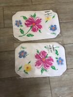 Town And Country Linen Vinyl Placemats With Flowers Vintage Vintage Packaged