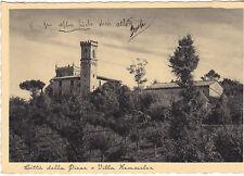 CARTOLINA CITTA' DELLA PIEVE - PERUGIA - VILLA HEMMELER - VIAGGIATA  1938  # 1