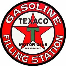 Vintage Texaco Gas Oil Filling Station Decal - The Best