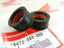 Honda CB 350 FOUR F connecting tube rubber MUFFLER EXHAUST CLAMP New