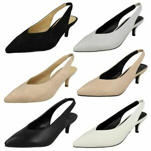 Spot On Ladies Slingback Shoes