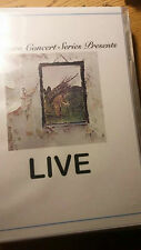 Dream Concert Series Presents: Led Zeppelin's Led Zeppelin 4 LIVE on DVD !! rare