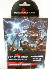 D & D Dungeons & DRAGONS MINIATURES Set 4: mostro Menagerie BOOSTER PACK