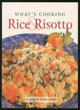 What's Cooking Rice & Risotto By Elizabeth WOLF-COHEN