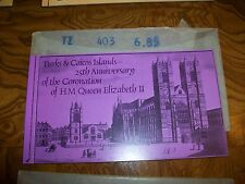 1977 TURKS & CAICOS ISLAND - QUEEN ELIZABETH II SILVER JUBILEE - BOOKLET