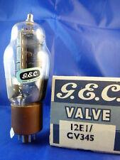 12E1 / CV345 G.E.C. # NIB # legendary tube # BOTTOM-DOUBLE-DISC-GETTER (9844)