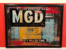 Miller Genuine Draft - MGD Beer Mirror