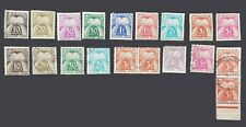 FRANCE 1946-1947 TIMBRE TAXE N° 78 A 85 -  84 manquant -TYPE GERBES - NEUF