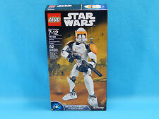 Lego Star Wars 75108 Clone Commander Cody Buildable Figure 82 Pieces New Sealed