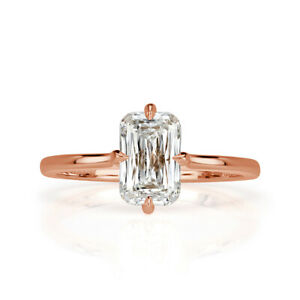 Mark Broumand 1.60ct Cross Cut Diamond Engagement Ring