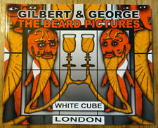 Gilbert and George 'The Beard Pictures' SIGNED catalogue White Cube London 2017