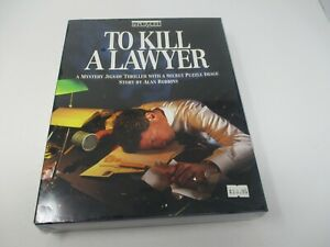 BePuzzled To Kill A Lawyer 500 Piece Puzzle Mystery Jigsaw Thriller New Sealed