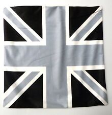Union Jack Black & White Cushion Cover Printed Digital