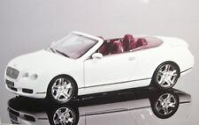 Bentley Continental GTC White Minichamps 1 18 100139032 Modellino Diecast