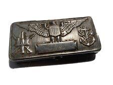 Boite Rasoir Ancien US Armée Americaine