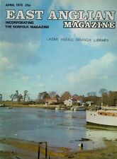 1975 APRIL 52877  East Anglian Magazine Cover Picture  ST OSYTH CREEK ESSEX