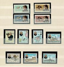 Portugal and Overseas MNH COMPLETE set 1969 Gago Coutinho Airplane 7+4 stamps