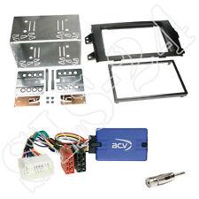 JVC Lenkradinterface+ Suzuki SX4(EY/GX) ab 06/2006 Doppel-DIN Blende+Antenne Set