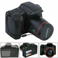Digital SLR Camera 2.4 Inch TFT LCD Screen 1080P 16X Zoom Anti-shake w/ mic