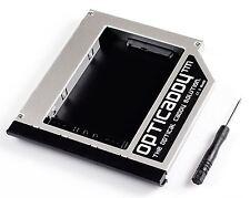 Opticaddy SATA-3 HDD/SSD Caddy+Blende für HP Compaq 6730s 6735b