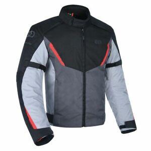 Waterproof Motorcycle Jacket > Oxford Delta 1.0 Armoured - Black / Grey / Red