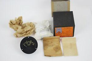 Westinghouse Voltmeter 0X-33, 0-600 Volts Gauge - NEW in BOX - VINTAGE #a