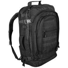 Jumbo Modular Field Pack Black Military Army Paramedic Comfortable Backpack