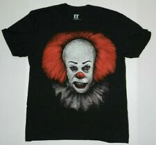IT Pennywise Killer Clown Movie Charcoal Tee Shirt New