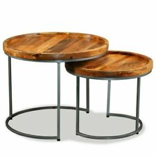 VidaXL Side Table Set - 2 Pieces (244585)