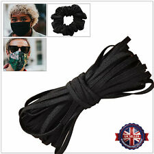 Soft Stretchy Round Elastic Cord Flat Knitted 11mm Sewing Strap Face Masks Cloth