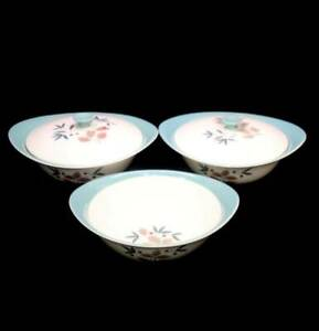 Vintage 1950s mid century WEDGWOOD Brecon two lidded tureens & bowl