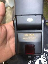 Sunpak 355AF Model Flash for Minolta. Tested.