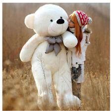 63in. Giant Huge Big White Teddy Bear plush Stuffed Animal Plush Soft toys gift