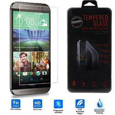 Ultra Slim Premium Real Tempered Glass Film Screen Protector Skin for HTC One M8