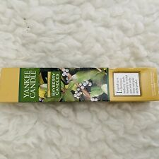 """Yankee Candle Bayberry Candles Two 8"""" Tapers Green New in Box"""