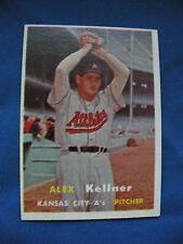 1957 Topps Alex Kellner Kansas City A's card #280 baseball MLB $1 S&H