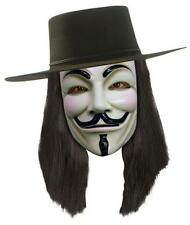 V FOR VENDETTA WIG COSTUME GUY FAWKES LICENSED RU51385