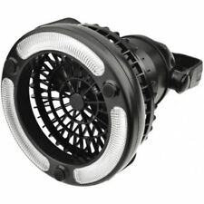 2in1 LED Light Camping Fan w/ Hanging Hook