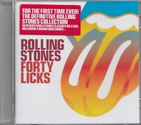 THE ROLLING STONES : FORTY LICKS / 2 CD-SET - NEU