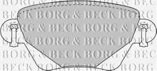 BORG & BECK BBP1707 BRAKE PAD SET FOR DISC BRAKE REAR AXLE PA568857C OE QUALITY